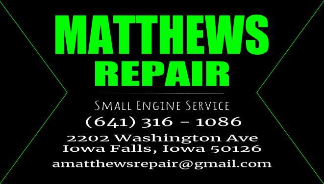 Matthew's Repair