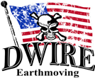 Dwire Earthmoving and Excavating Logo