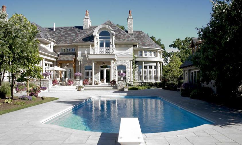 Outdoor Luxury Home