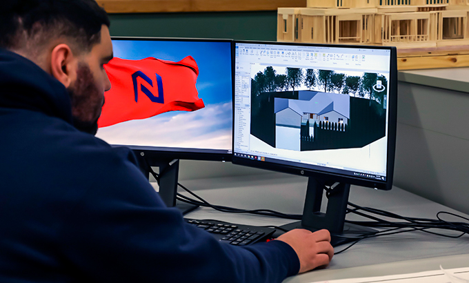 Northland Community & Technical College Architecture Technology student Ali Alshaban