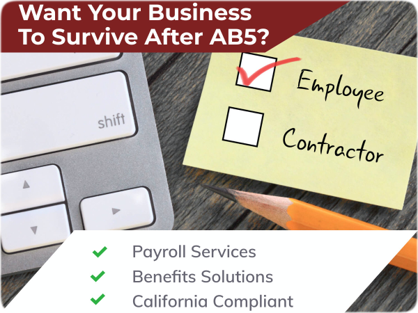 Want Your Business To Survive After AB5?
