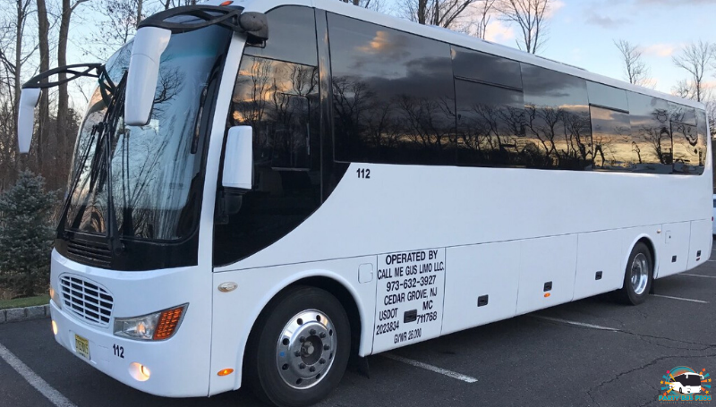 33 PAX Exterior by the NYC Party Bus Pros