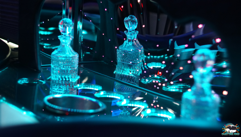 33 PAX Bar Lights by the NYC Party Bus Pros