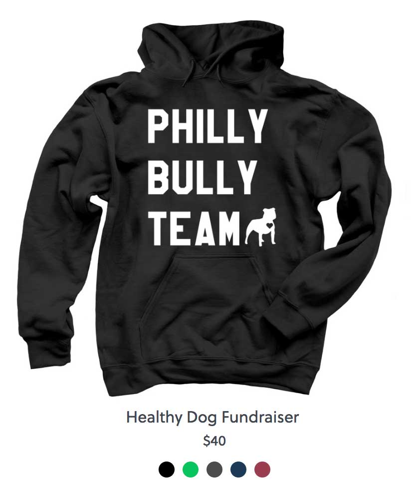 Philly Bully Team Sweat Shirt