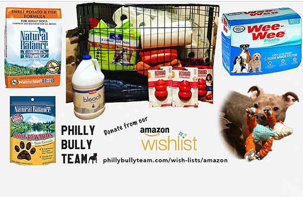 Philly Bully Team Amazon Wishlist