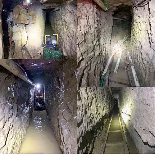 El Chapo Longest Drug Smuggling Tunnel Discovered in US