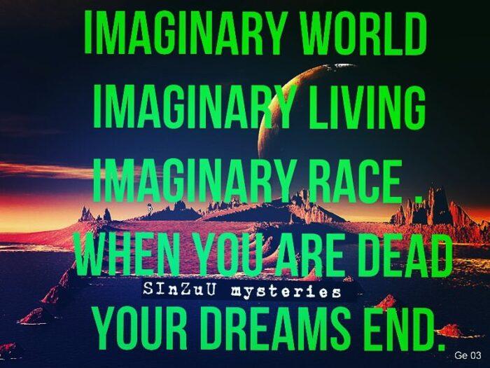 Imaginary world- Sinzuulive