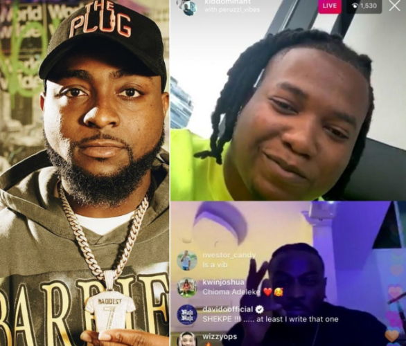 Peruzzi and Kiddominant Reveals they wrote most of Davido Hit song in Instagram Live