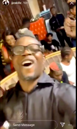 JJC Skillz Supported his Wife Funke Akindele On Why they held a Crowded House-Party