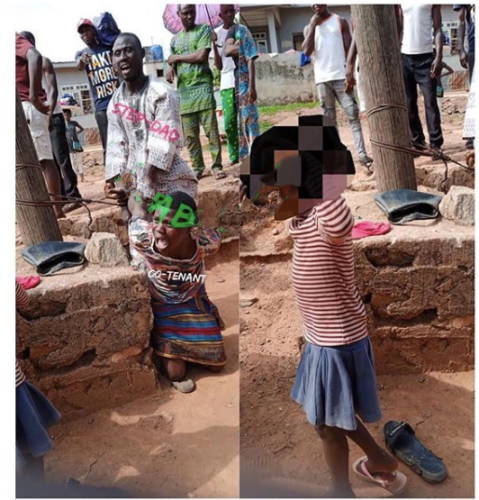 Step Father and Tenant Defile a 7 Year old Girl Child in Ilesha Osun State