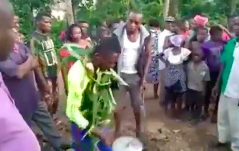 Man poison his twin brother food for money ritual (video)