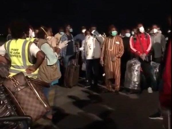 256 Nigerians have arrived Lagos State from United Arab Emirates