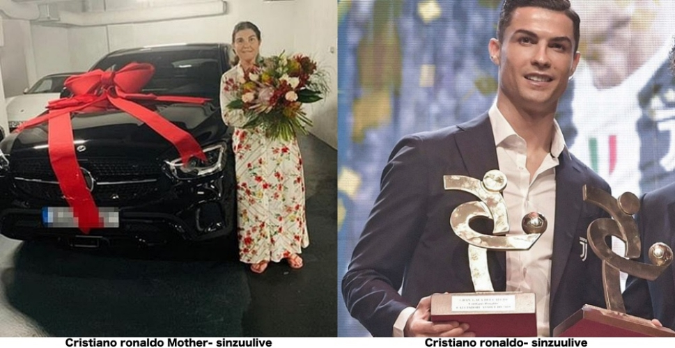 Cristiano Ronaldo buy his mother new Mercedes on Portuguese Mother's Day