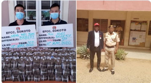 EFCC reject N100M from Chinese- sinzuuliveblog
