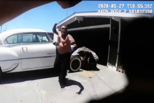 Video of Hayward Police Officers shooting a 60 year old Man 4 times in a Front Yard