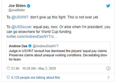 Joe Biden- sinzuulive