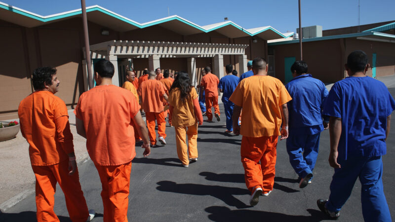 Los Angeles prison inmates were eager to contract coronavirus for a ticket out of Jail.