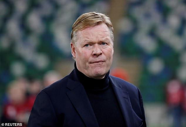 Coach Ronald Koeman- sinzuulive