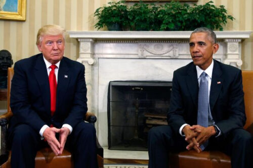Obama called out Trumps response to COVID-19 as an absolute 'Chaotic Disaster'