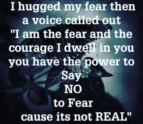 I hugged my fear- sinzuuliveblog