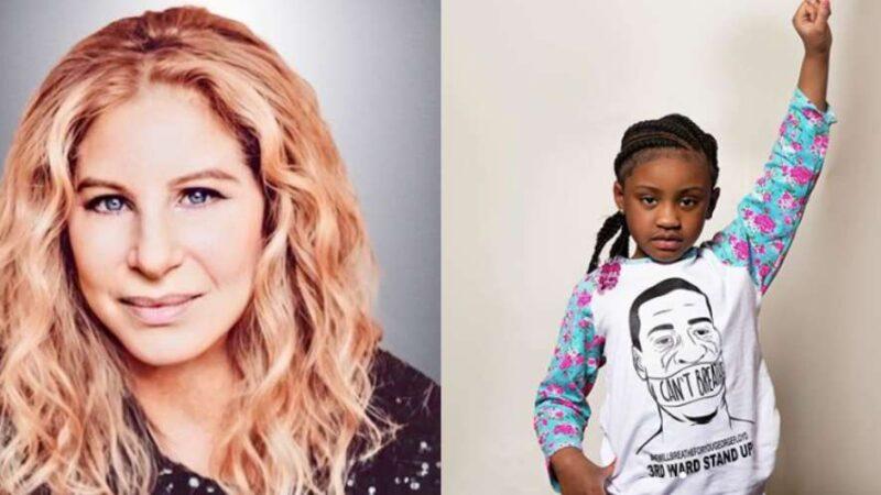 Barbra Streisand Makes George Floyd's Daughter a Disney Stock ShareHolder