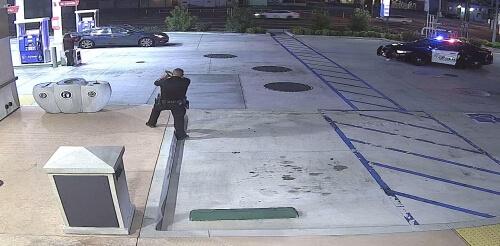 Homeless man fatally gunned down by San Bernardino Police officer.