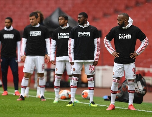 Premier League players to wear 'Black Lives Matter' Badge on their Uniform