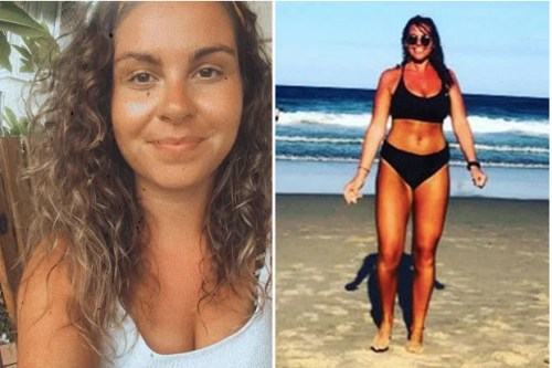 Bikini Hero : A Nude Sunbather saves a Family of Three from Drowning in a Riptide in Pedn Vounder