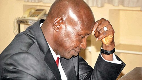 Ibrahim Magu Taste the Bitter Side of the Law after been Suspended as EFCC Acting Chairman