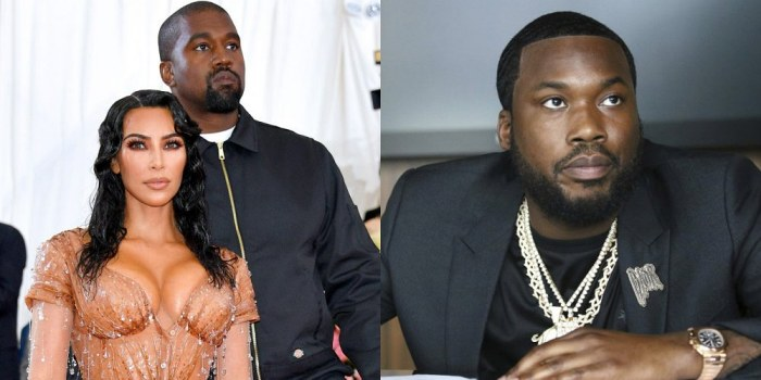 Meek Mill Speaks Up about Kanye's Inference of Sleeping with Kim Kardashian