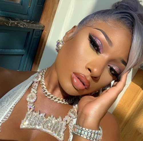 Megan Thee Stallion IGLive Was Super Emotional but Tory's Name not Mentioned