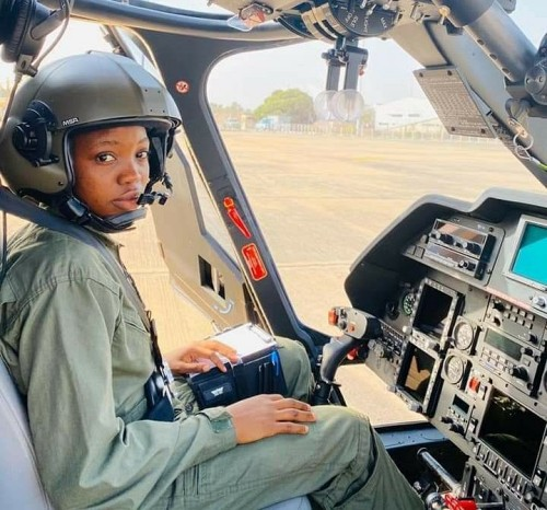 Nigerian Air Force First Female Combat Helicopter Pilot Tolulope Arotile Dead at 23