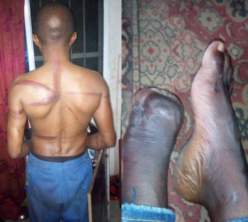Modernized Slavery in Aba: Chinese Company Dehumanize Their Nigerian Staffs | Photo|Video