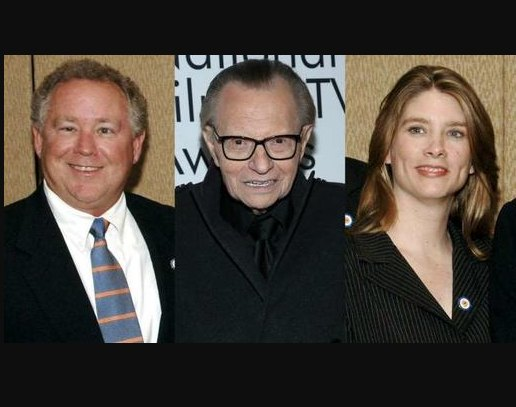 Larry King Face Double Tragedy in Space of Weeks : His Two Children Died