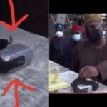#EndSARS; Fashola Finds A Camera At Lekki Tollgate.