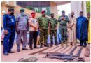 Four bandits surrenders arms, anti aircraft guns, rocket launchers, live ammunitions to Zamfara State Govt