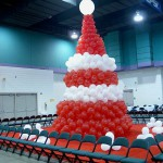 Red & White Christmas Tree