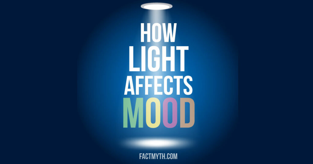 "text ""How Light Affects Mood"" Illuminated"
