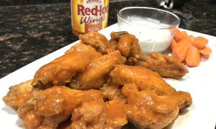 homemade fried buffalo wings