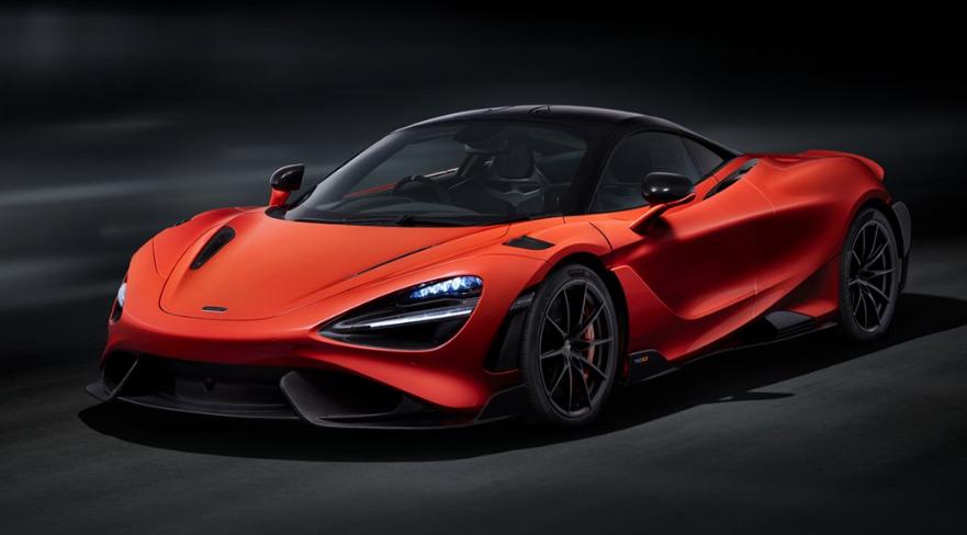 McLaren 765LT   The 755 hp Longtail