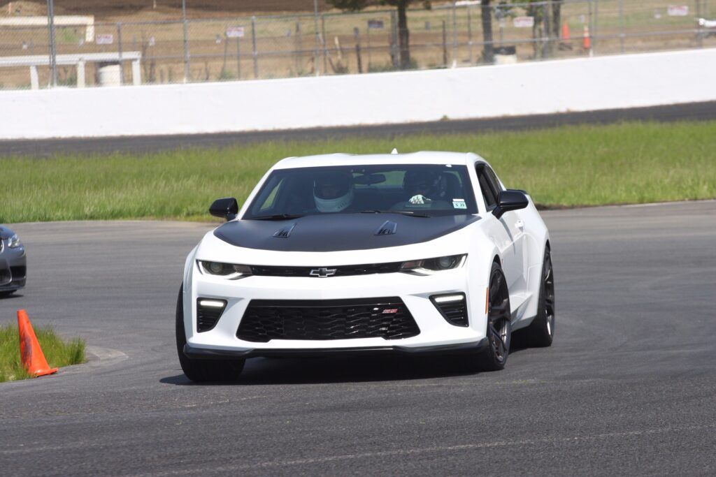 Camaro SS 1LE on Track