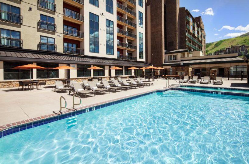 Sheraton Steamboat Resort Villas CO pool