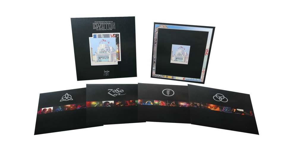 Led Zeppelin The Song Remains The Same box set