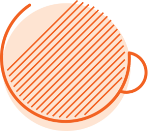 inner circle coffee cup icon