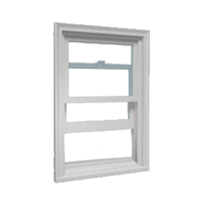 open single hung window