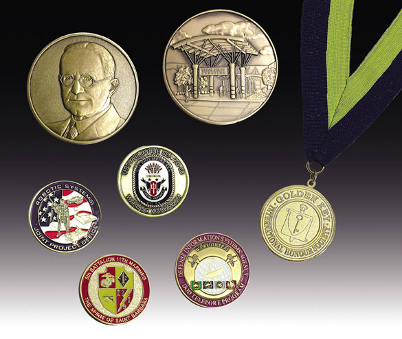 Medallions and Coins