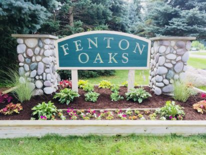 Plantings for Fenton Oaks, Fenton Mi
