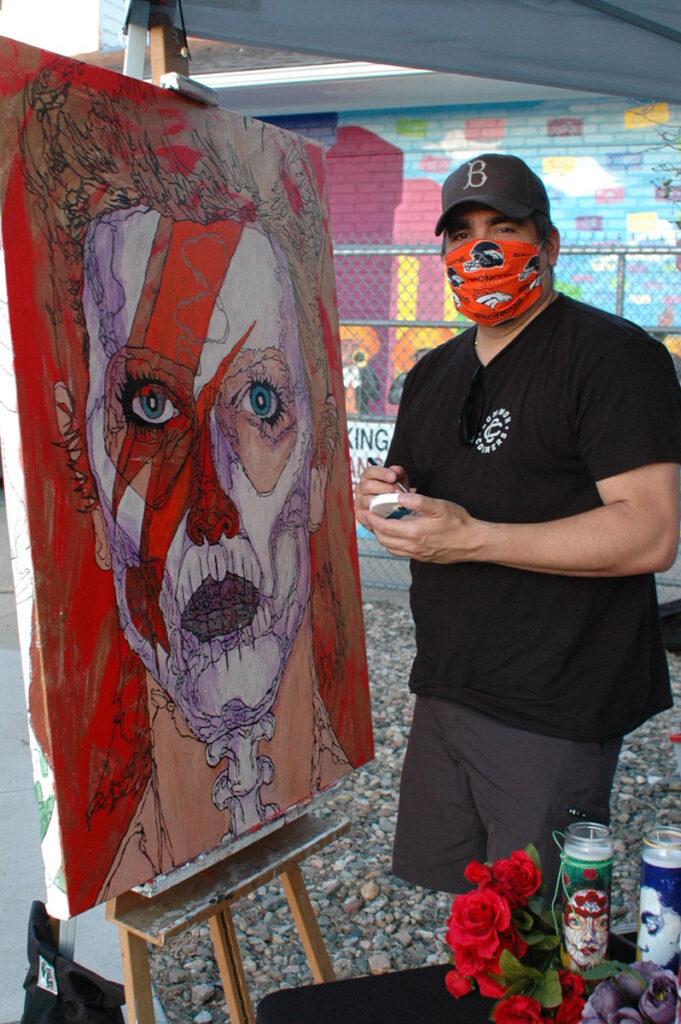 Caminata de arte durante la pandemia