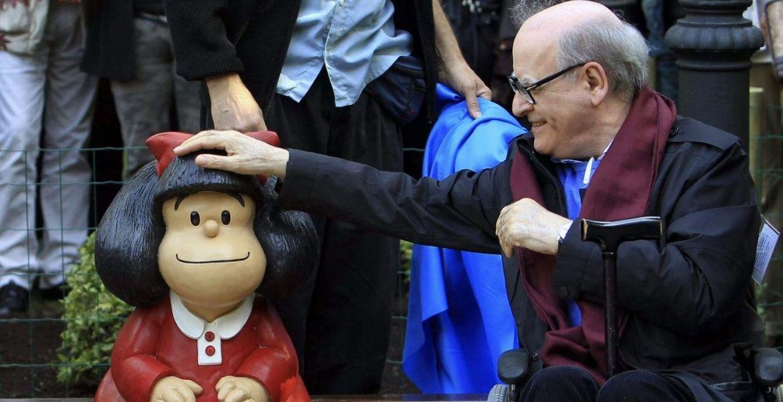 Quino el genio que inmortalizó a Mafalda