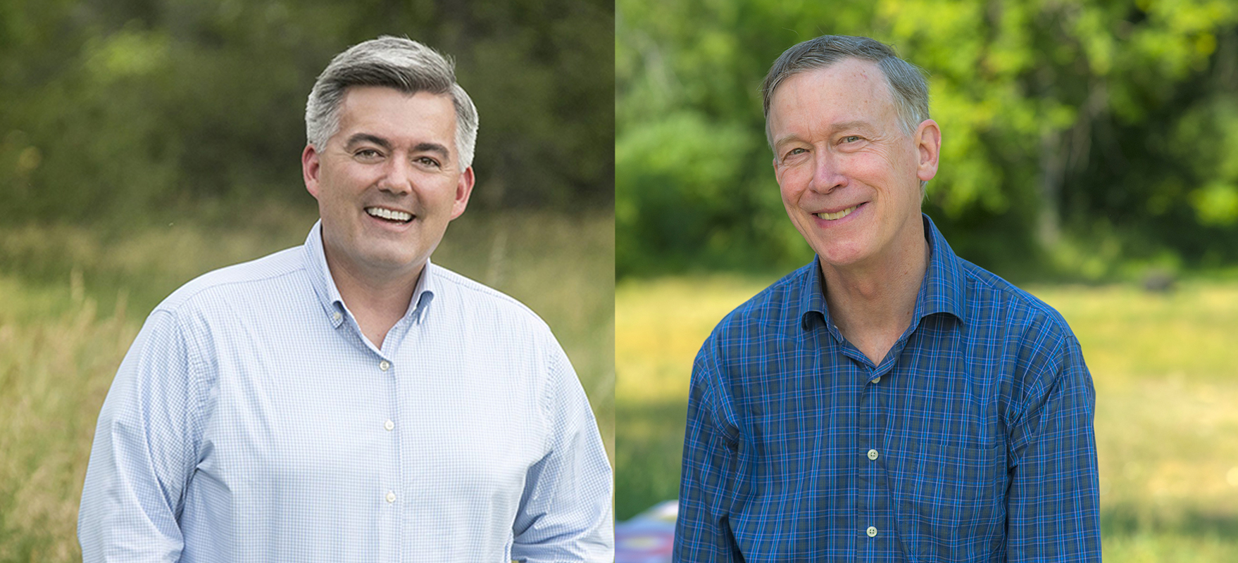 Gardner y Hickenlooper al natural Gardner and Hickenlooper